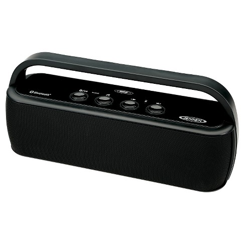 Jensen Portable Bluetooth Wireless Stereo Rechargeable Speaker - image 1 of 3