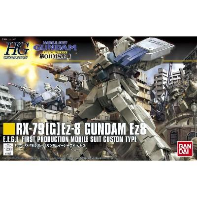 Bandai Hobby 08th MS Team #155 HGUC RX-79 Gundam Ez-8 HG 1/144 Scale Model Kit