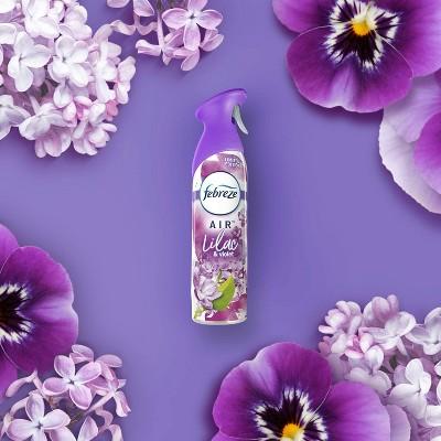 Febreze Odor-Eliminating Air Freshener - Lilac & Violet - 8.8oz