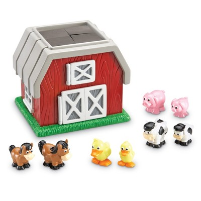 Learning Resources Hide-N-Go Moo, 9 Pieces, Ages 2+