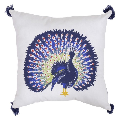 "18"" Throw Pillow - Peacock - Threshold™ - image 1 of 1"