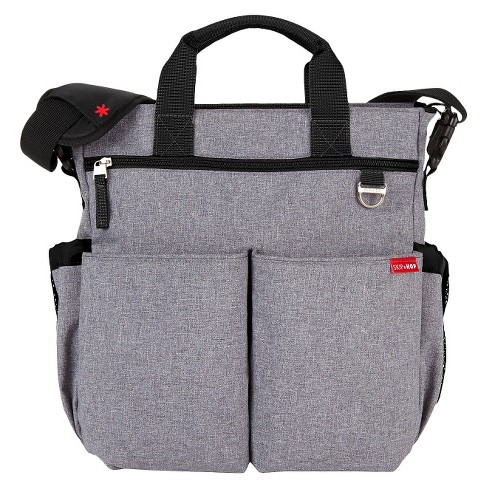Skip Hop Duo Signature Diaper Bag Heather Gray