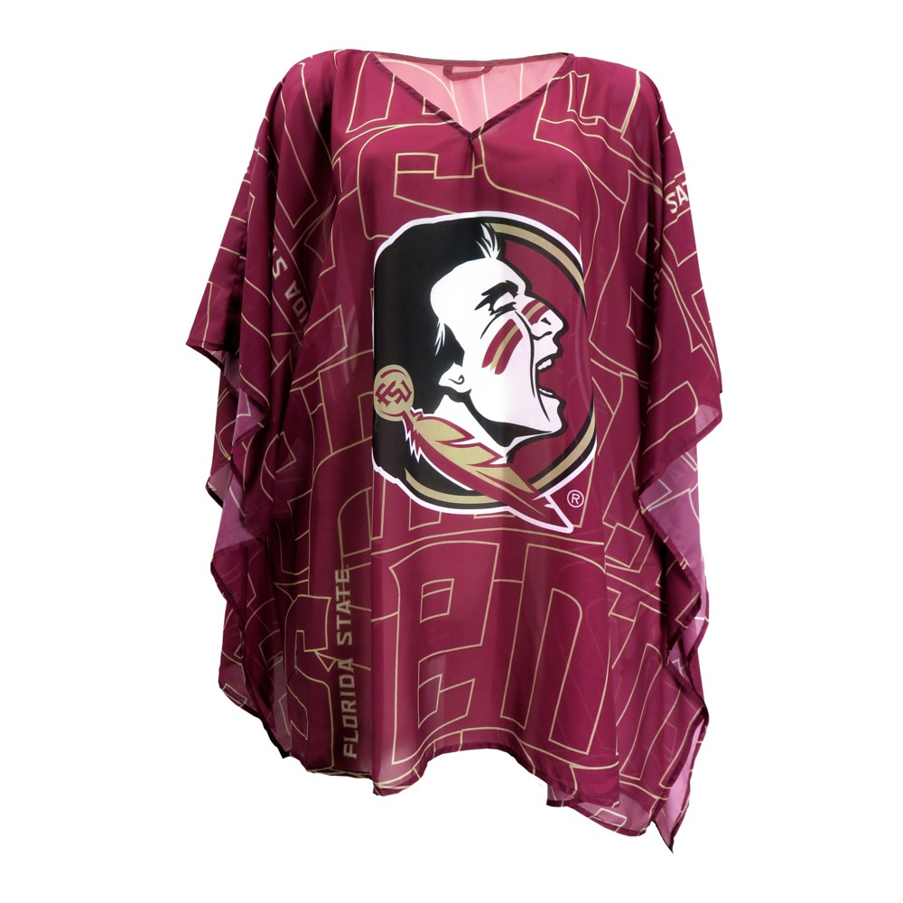NCAA Florida State Seminoles Little Earth Women's Elbow Length Caftan - One Size
