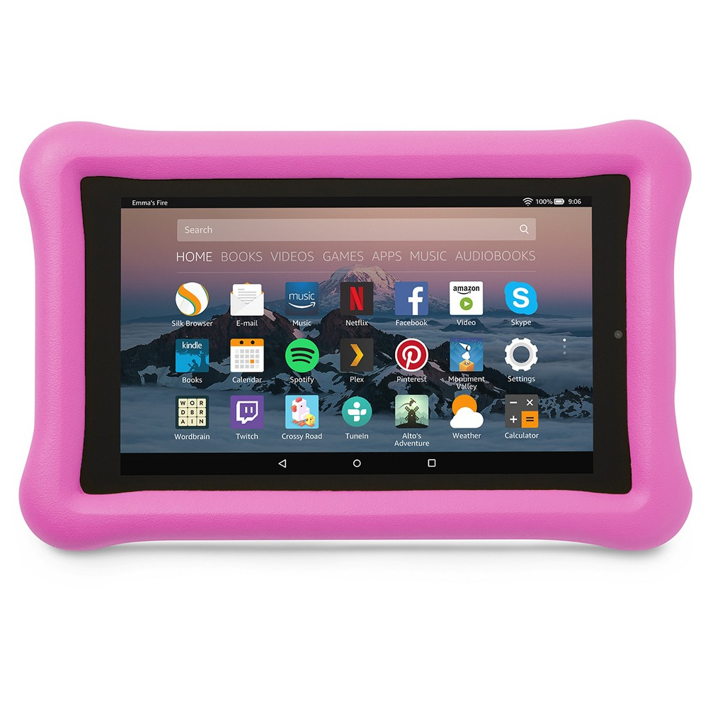 Amazon Kid-Proof Case for Amazon Fire Tablet (7th Generation, 2017 Release) - Pink