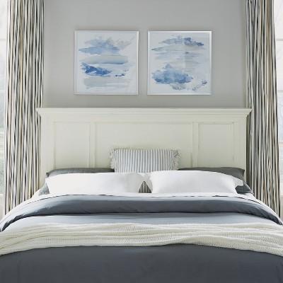 King Dover Headboard White - Home Styles