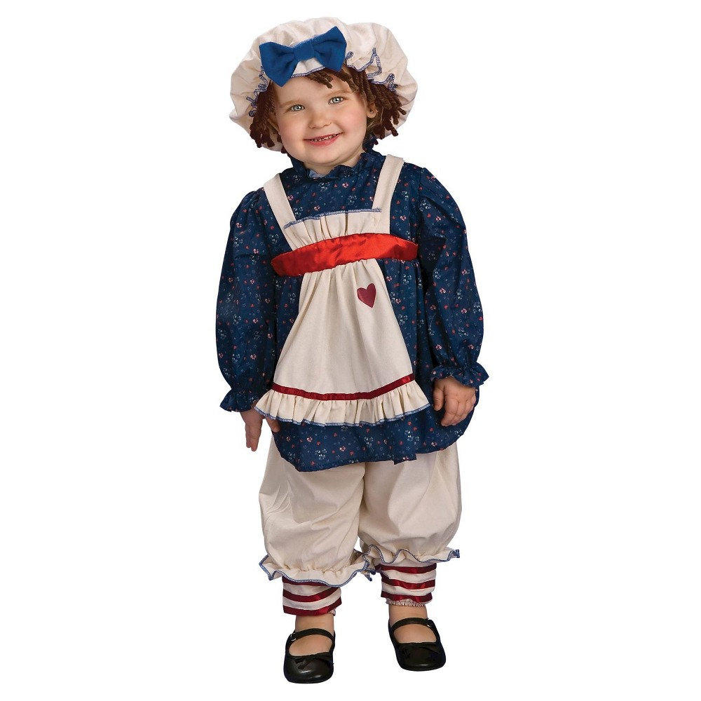 Yarn Babies Ragamuffin Dolly Baby Costume 6-12 Months, Infant Girl's, Size: 6-12M, Blue