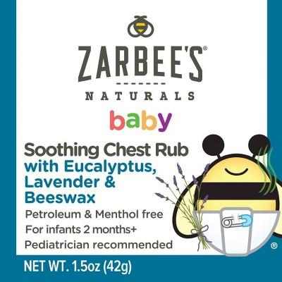 Zarbee's Naturals Baby Chest Rub - 1.5oz