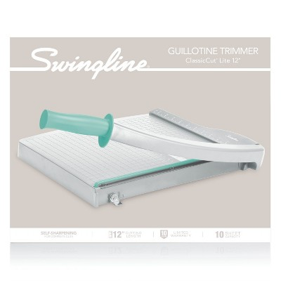 Swingline Paper Trimmer, Gray/Teal