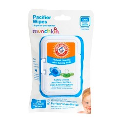 Munchkin Arm & Hammer - 36 Pacifier Wipes