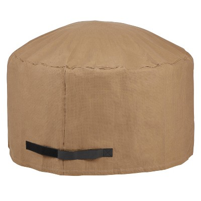 """42"""" Essential Round Fire Pit Cover - Duck Covers"""