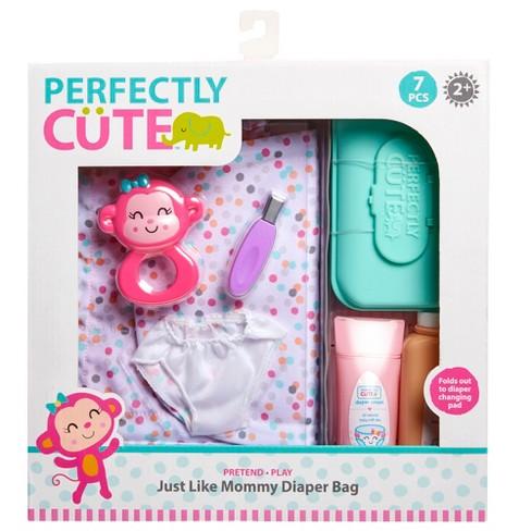 Baby Doll Diaper Bag Pretend Play Set Baby Dolls