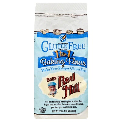 Flours & Meals: Bob's Red Mill Gluten Free 1 to 1 Baking Flour