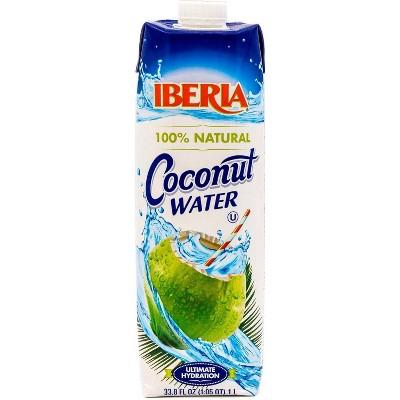 Iberia Natural Coconut Water - 12pk/1L Bottles