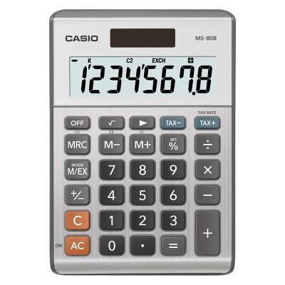 Casio Basic 8-Digit Desktop Calculator (MS-80B)