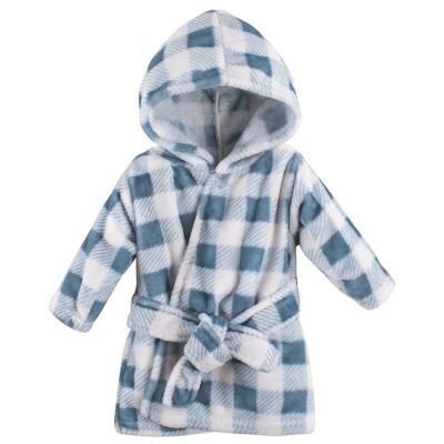 Hudson Baby Infant Boy Plush Animal Face Bathrobe