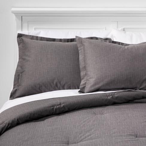 Standard Target THRESHOLD Blue//White Linework Medallion Pillow Sham Cotton