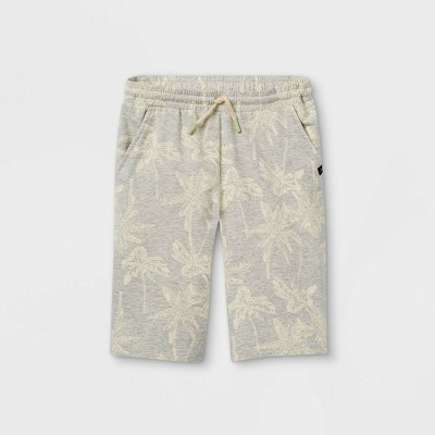 Boys' Graphic Pull-On Shorts - art class™ Light Gray