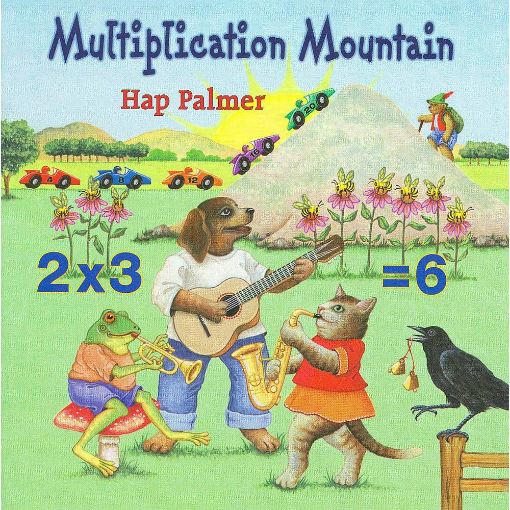Hap Palmer - Multiplication Mountain (CD)