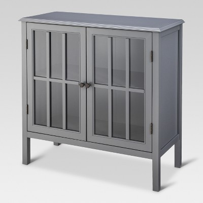 Windham Two-Door Storage Cabinet - Gray - Threshold™