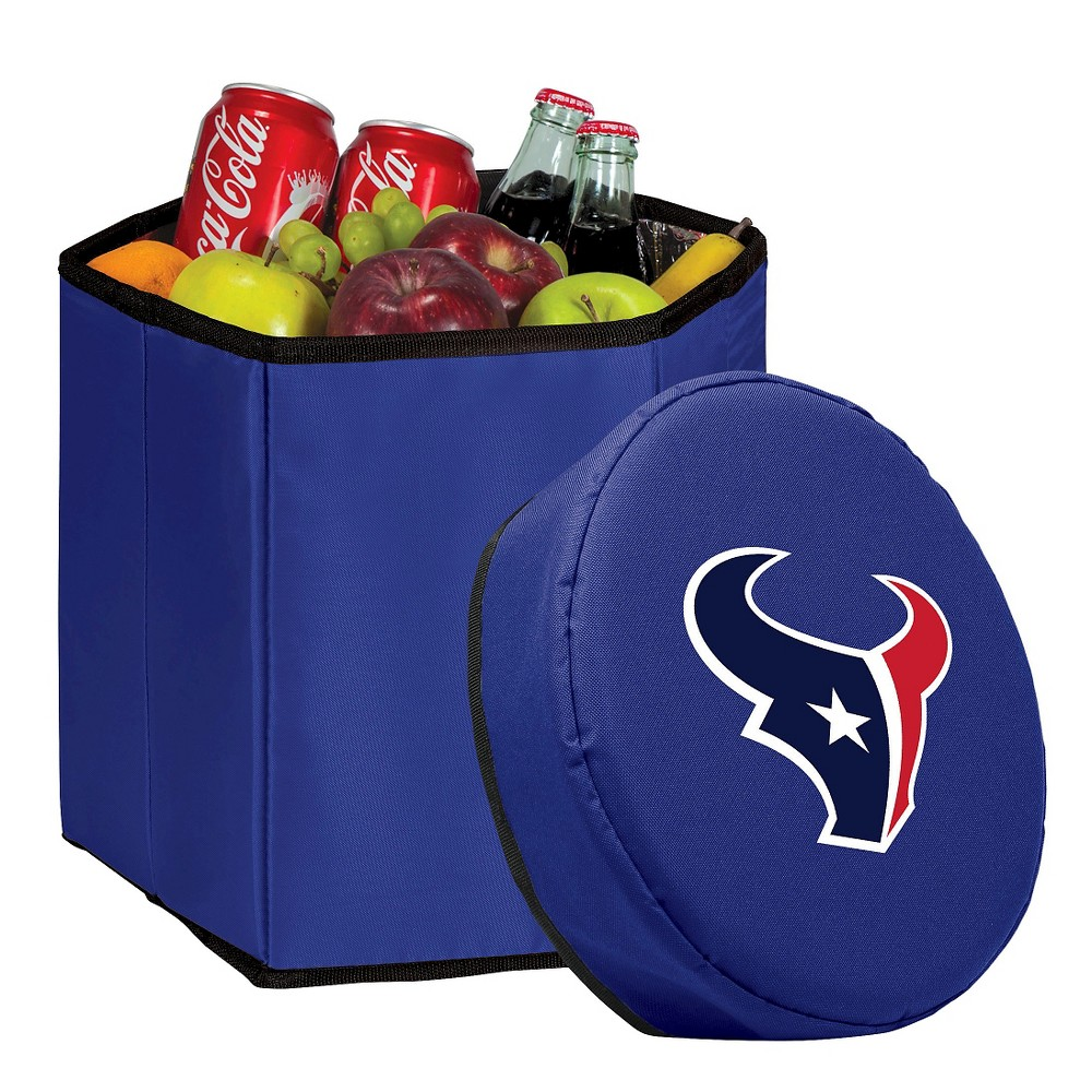 Houston Texans Bongo Cooler By Picnic Time Navy