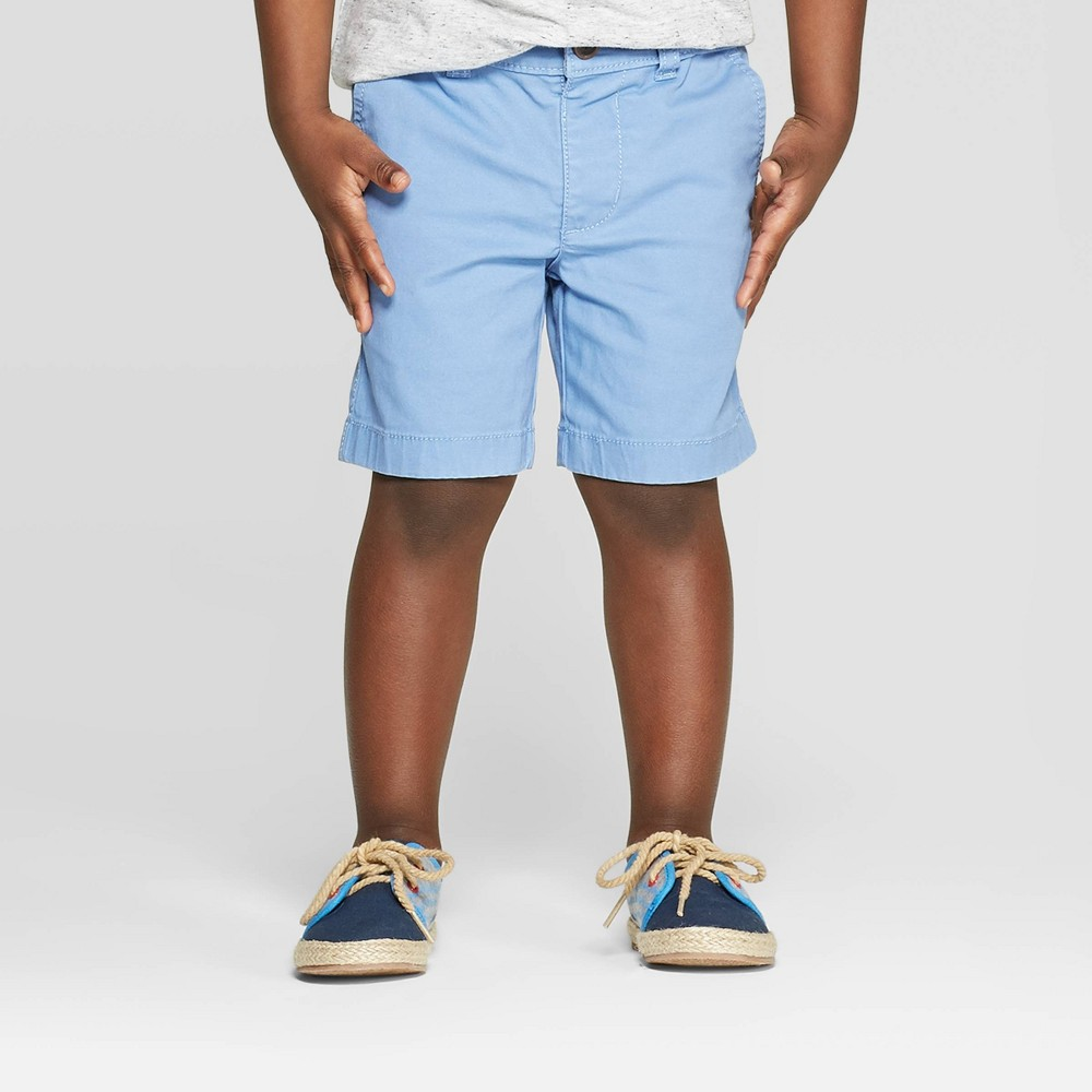 5b025af315 OshKosh BGosh Toddler Boys Flat Front Shorts Blue 5T