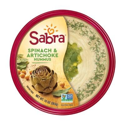Sabra Spinach And Artichoke Hummus Dips - 10oz