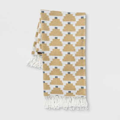 Patterned Throw Blanket - Yellow/White - Project 62™