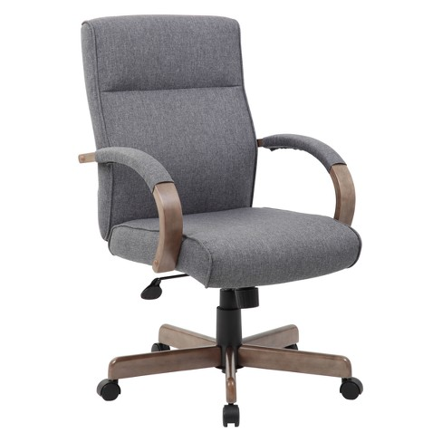 Modern Executive Conference Chair Gray - Boss - image 1 of 6