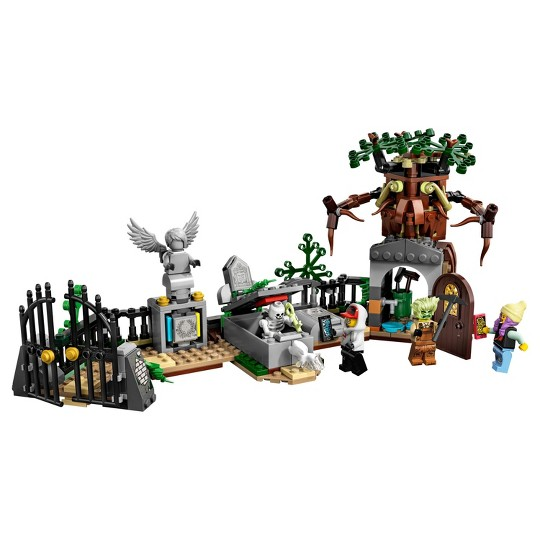LEGO Hidden Side Graveyard Mystery 70420 Augmented Reality (AR) Building Kit 335pc image number null