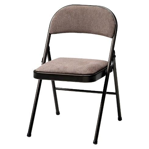 Pleasant 4 Piece Deluxe Fabric Padded Folding Chair Cinnabar Frame And Corrin Fabric Sudden Comfort Creativecarmelina Interior Chair Design Creativecarmelinacom
