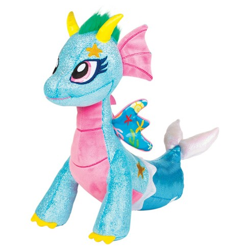 Glitter Shine Dragon Sea Sparkle Plush Toy   Target e2c42aed2