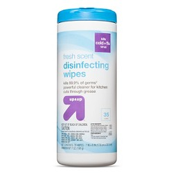 Disinfecting Wipes Fresh Scent, 35ct - Up&Up™