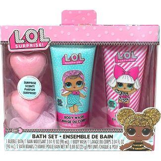 LOL Surprise Kids Bath Bombs - 4pk