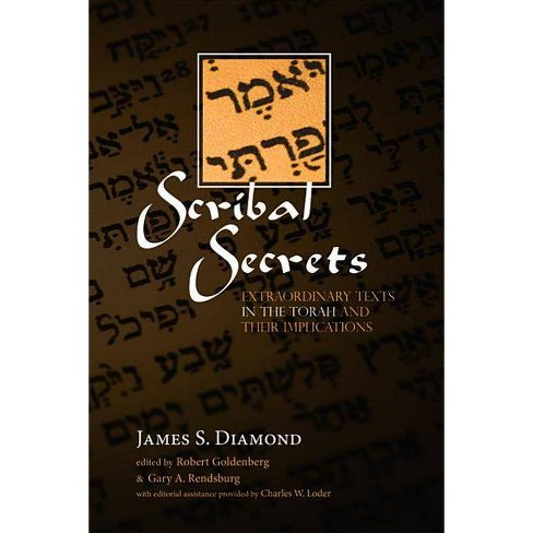 Scribal Secrets - by  James S Diamond (Paperback) - image 1 of 1