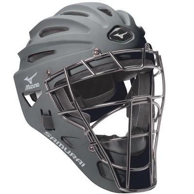 Mizuno Samurai G4 Baseball Catcher's Helmet Mens Size No Size In Color Grey (9191)