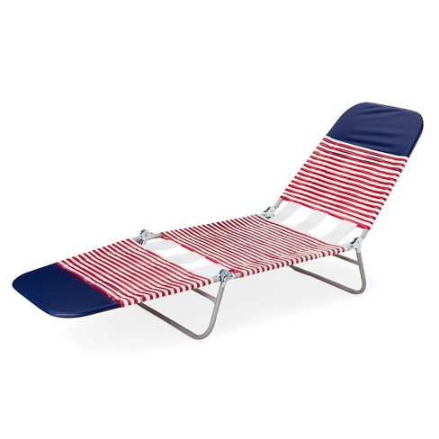 Patio Jelly Lounger - Red, White & Blue - Room Essentials™ - image 1 of 4