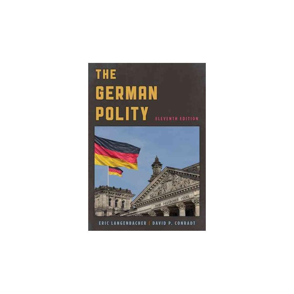 German Polity (Paperback) (Eric Langenbacher & David P. Conradt)