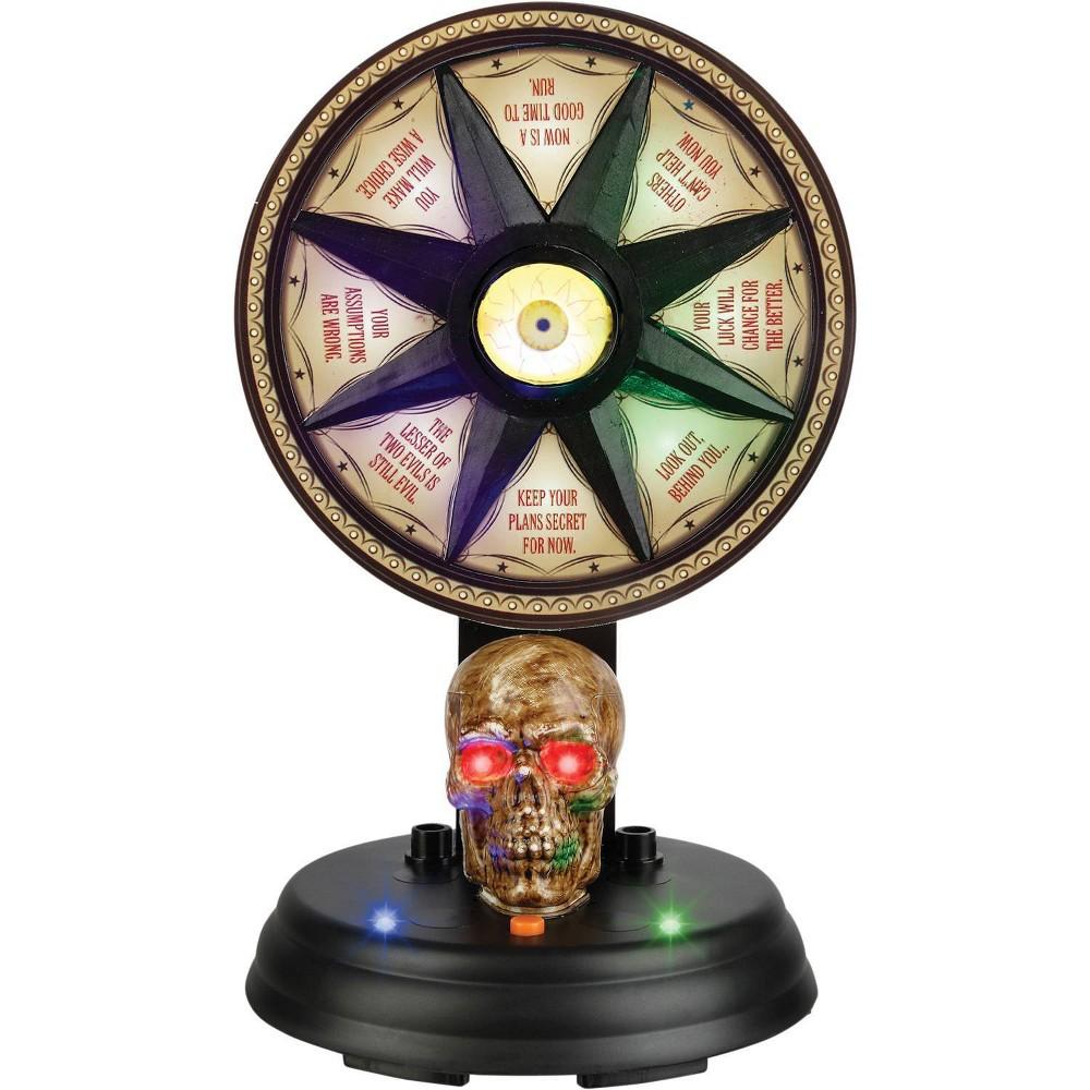 """Image of """"11"""""""" Halloween Animated Mystic Wheel"""""""