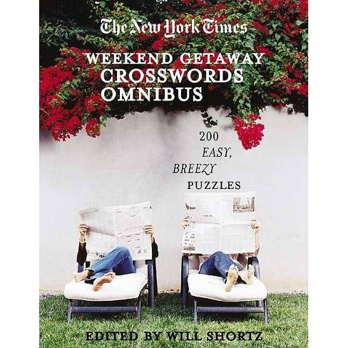 The New York Times Crosswords for a Weekend Getaway - (Paperback) - image 1 of 1