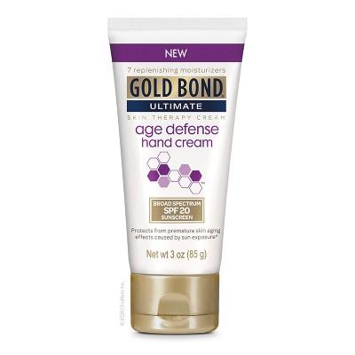 Gold Bond Ultimate Age Defense Hand Cream - 3oz