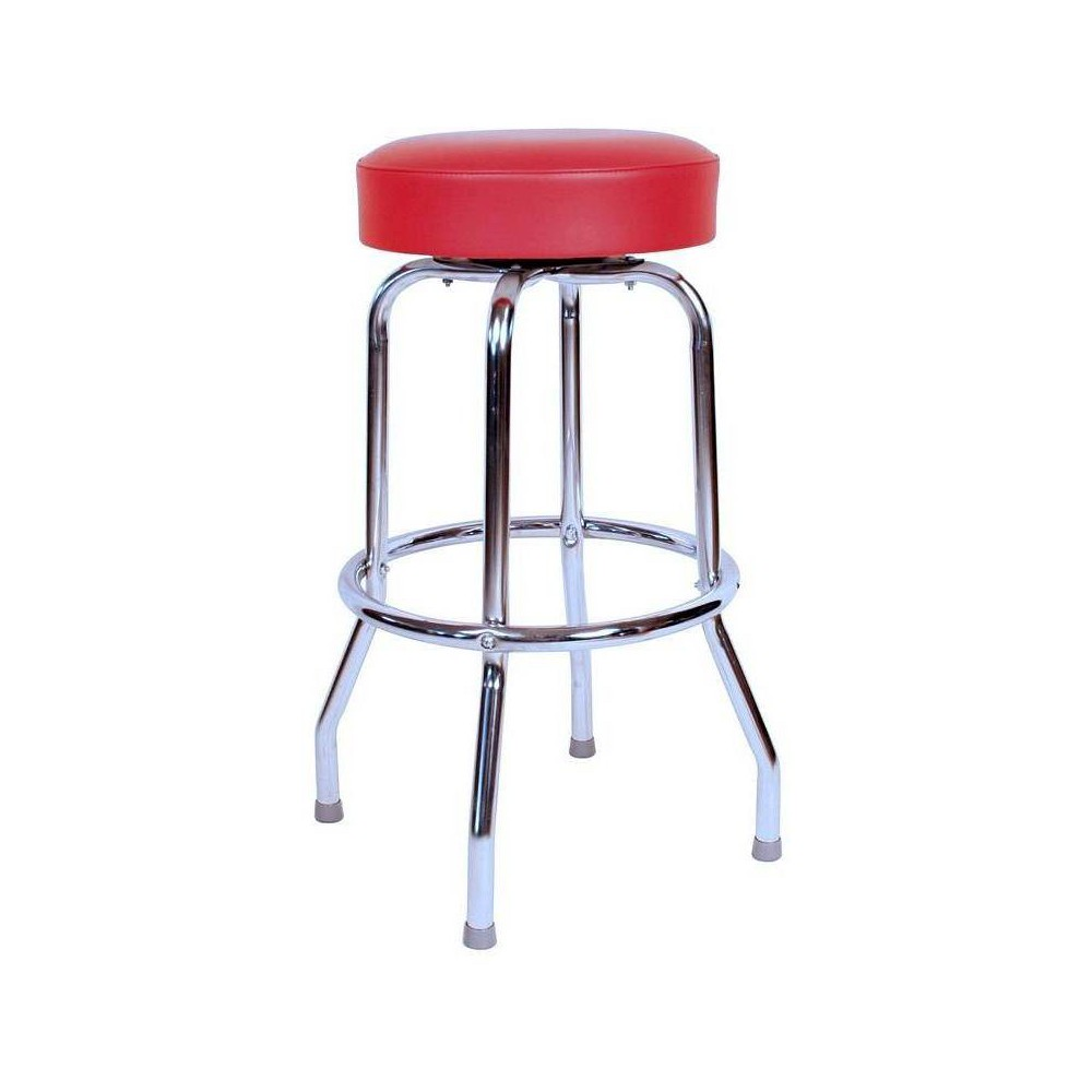 "Image of ""24"""" Floridian Swivel Counter Stool Red - Richardson Seating"""