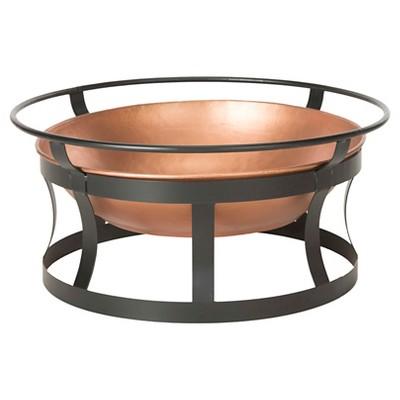 Bonaire Woodburning Fire Pit 28  x 13  - Copper - Safavieh®
