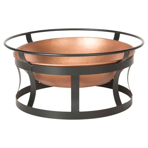 "Bonaire Woodburning Fire Pit 28"" x 13"" - Copper - Safavieh® - image 1 of 2"