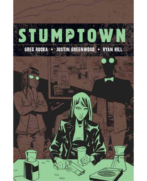 Stumptown 4 : The Case of a Cup of Joe, Investigations Portland, Oregon (Hardcover) (Greg Rucka) - image 1 of 1