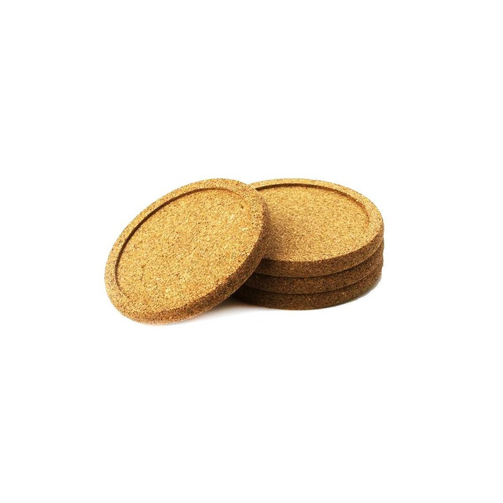 Image of Natural Home 4pk Cork Coasters