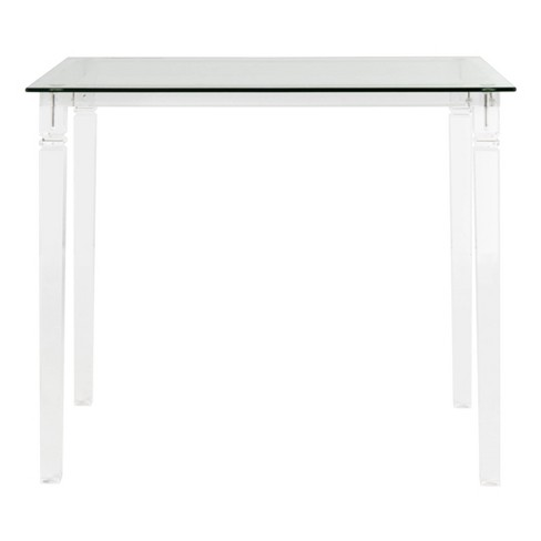 Amelie Acrylic Side Table Clear - Safavieh - image 1 of 4