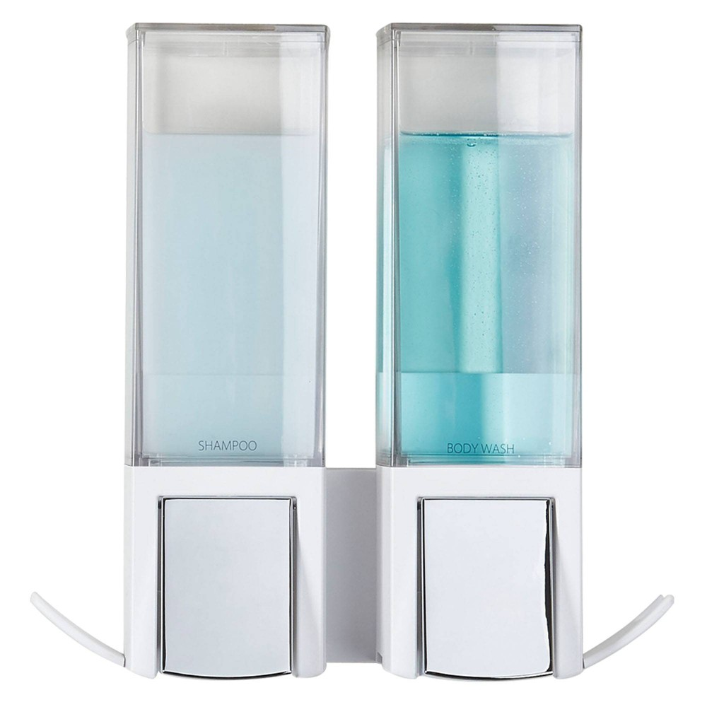Image of Clever Double Dispenser White - Better Living Products