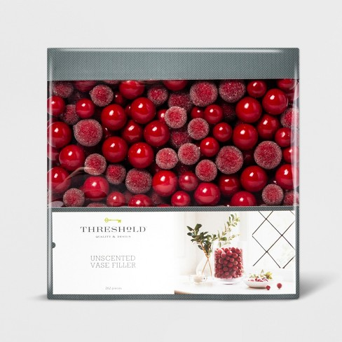Vase Filler Berries Red - Threshold™ - image 1 of 1