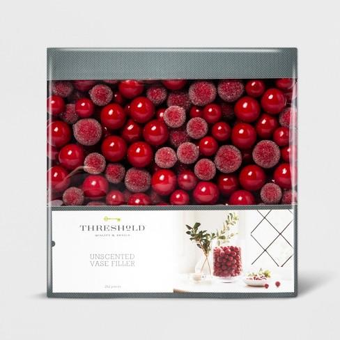 Vase Filler Berries Red - Threshold™ - image 1 of 1