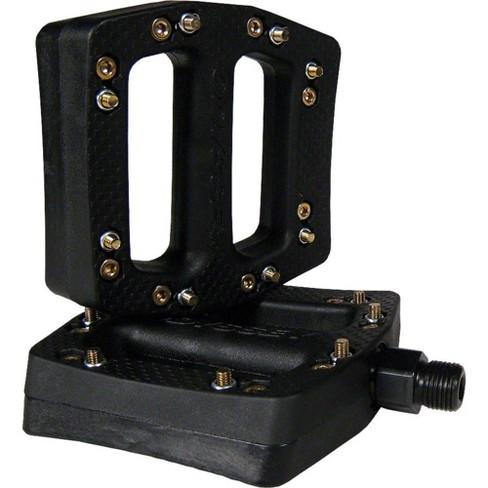 Odyssey BMX JC Pedals - Platform Plastic 9/16 Black - image 1 of 2